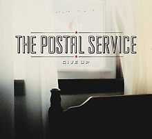 The Postal Service - Give Up by SUPERPOPSTORE