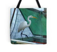 Thief at the Bait Tank Tote Bag