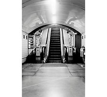 London Tube escalator Photographic Print