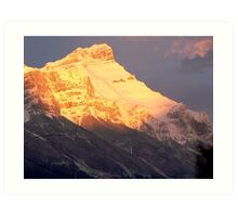 Fire On The Mountain Art Print