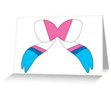 Sylveon Bow Greeting Card