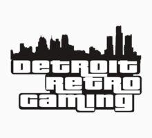 Detroit Retro Gaming Kids Tee