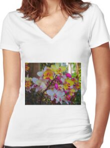 Easter Parade  Women's Fitted V-Neck T-Shirt