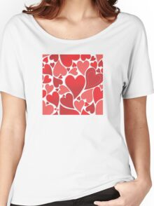 Love Unlimited - Red Women's Relaxed Fit T-Shirt