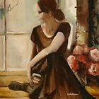 Dancer in the window by Cathy Amendola