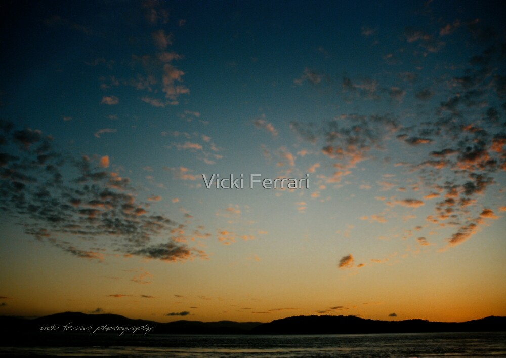 Mainland Sunset © by Vicki Ferrari