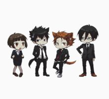 Psycho Pass - The squad by reaf