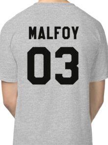 Draco Malfoy Jersey Classic T-Shirt