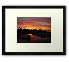 Breathtaking Sunsets Framed Print