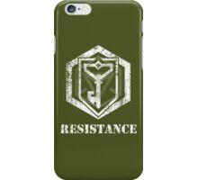 RESISTANCE - Ingress iPhone Case/Skin