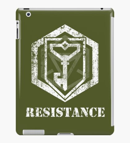 RESISTANCE - Ingress iPad Case/Skin