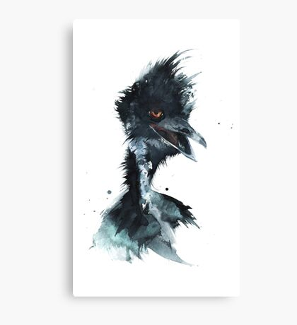 Feeling Emu? Canvas Print