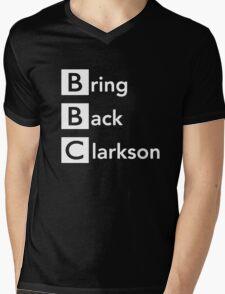 Bring Back Clarkson Mens V-Neck T-Shirt