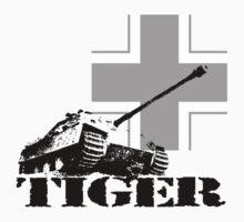 tiger tank Jagdpanzer V by hottehue