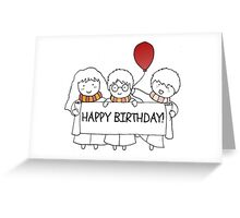 Harry Potter Happy Birthday Greeting Card