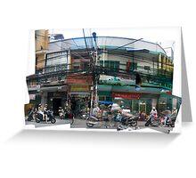Saigon - Street Life Greeting Card