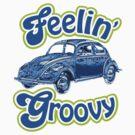 Groovy Bug Tee by loislame