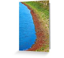 Dams Edge Greeting Card
