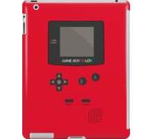 Retro Video Game Boy Console   iPad Case/Skin