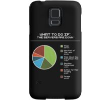 What to do if the servers are down Samsung Galaxy Case/Skin