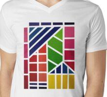 Colour Spectrum Mens V-Neck T-Shirt