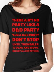 D&D Party Women's Relaxed Fit T-Shirt
