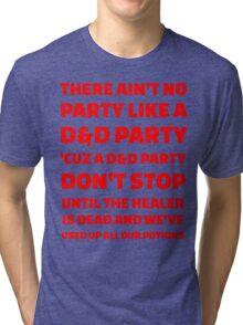 D&D Party Tri-blend T-Shirt