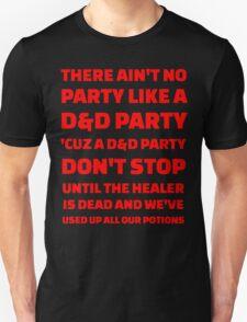 D&D Party T-Shirt