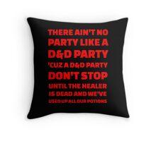 D&D Party Throw Pillow