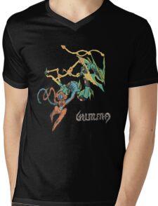 Owain's Deoxys & Mega Rayquaza Mens V-Neck T-Shirt