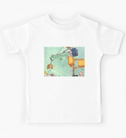 coney island street signs Kids Tee