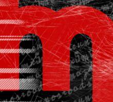 60's Miata Badge red Sticker