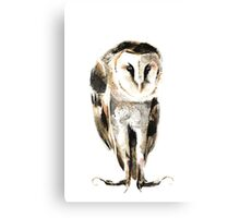 Melancholy Owl Canvas Print