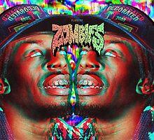 Flatbush ZOMBiES Meechy Darko by Chrisdolmeth360