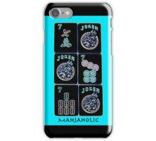 "Lucky Sevens and Jokers ""Mahjaholic"" #10 ~ Mah Jongg Series iPhone Case/Skin"