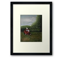 """""""Playtime""""... prints and products  Framed Print"""