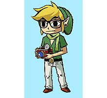 Hipster Link Photographic Print