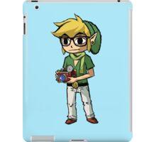 Hipster Link iPad Case/Skin
