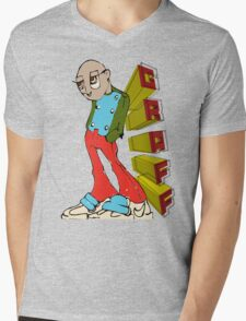 GRAFF GUY Mens V-Neck T-Shirt