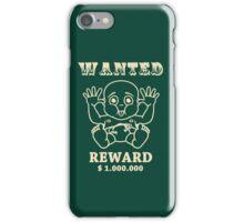 wanted reward 1.000.000 dollar iPhone Case/Skin