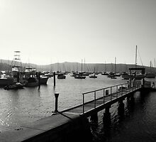 Salt Pan Wharf, Pittwater, NSW, Australia  by Of Land & Ocean - Samantha Goode