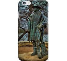 Stevie Ray Vaughan Statue iPhone Case/Skin