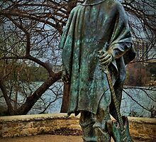 Stevie Ray Vaughan Statue by Judy Vincent