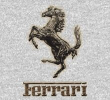 Ferrari ~ Wood Pine Kids Clothes