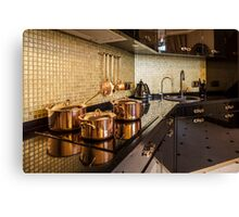luxury  kitchen Canvas Print
