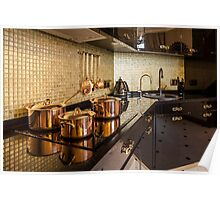 luxury  kitchen Poster
