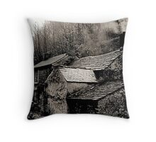 """Rock View Cottage"" Throw Pillow"