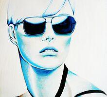 Blue Ray by JoanOfArt