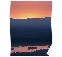 The colours of sunset Poster