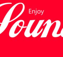 Enjoy Sound Sticker